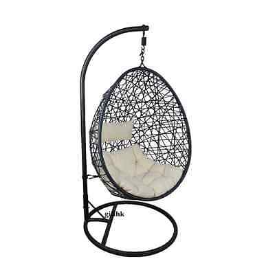 NEW Hanging Egg Chair Garden loungers Chairs Patio Furniture Seats Outdoor Swing