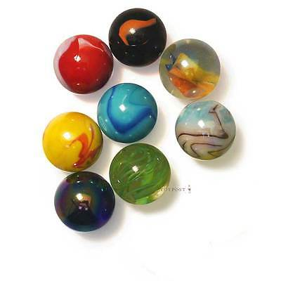 8 x 35mm Giant Glass Marbles by Toypost