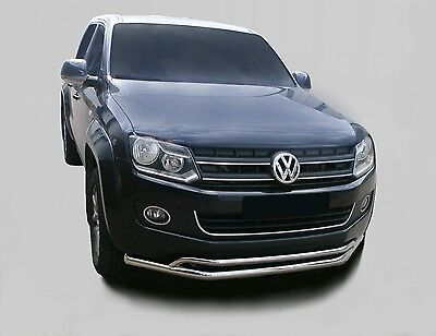 PARE BUFFLE VW AMAROK 2010-2016  INOX Ø 63 mm city guard