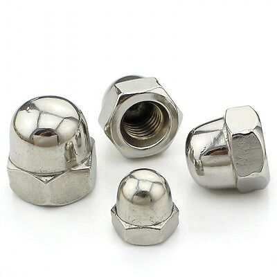 Acorn Hex Cap Nuts 304 A2 Stainless Steel Dome Nuts M3 M4 M5 M6 M8 M10 M12-M20