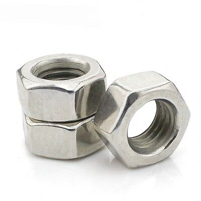 Full Nuts DIN934 304 A2 Stainless Steel Hex Nuts M12 M14 M16 M18 M20 M24 M30