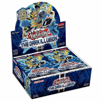 YuGiOh The Dark Illusion Booster Box - Brand New - SEALED - IN STOCK