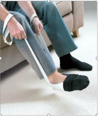 Sock Aid Mobility Stocking Puller Helper Dressing Disability Hosiery Easy