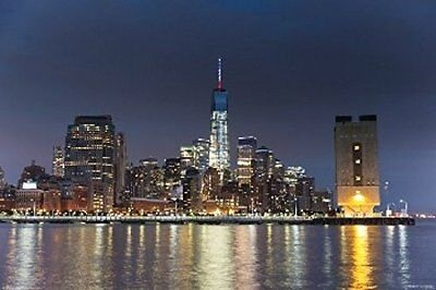 NEW YORK CITY - FREEDOM TOWER POSTER - 24x36 - NYC SKYLINE 3287