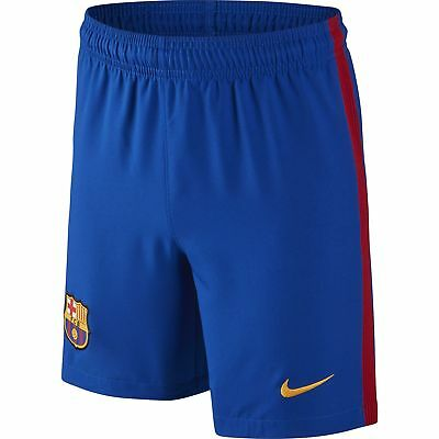 NEW FC Barcelona 2016/17 Kid's Home Football Shorts by Nike