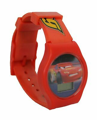 Cars Disney Pixar LCD Christmas Ornament Red Style Watch