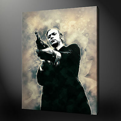 Michael Caine Dairty Harry Canvas Picture Print Wall Art Variety Of Sizes
