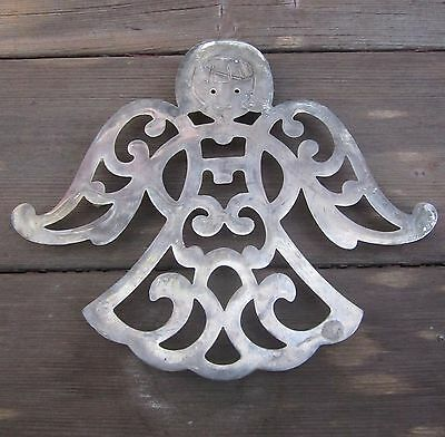 """F.B Rodgers Trivet Shaped Like an """"ANGEL"""" 9"""" X 7.75"""" FBR-EP-Zinc Made in Italy!!"""