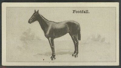 1928 W.D. & H.O. Wills New Zealand Race Horses #14 Footfall