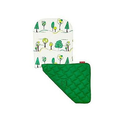 Maclaren Baby Pushchair Reversible Seat Liner-Hug a Tree/Jelly Bean Green NEW