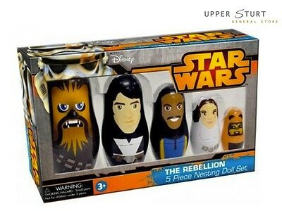 Star Wars - The Rebellion Nesting Dolls Set FAST 'N FREE DELIVERY