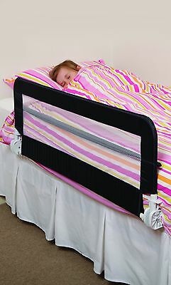 NEW DREAMBABY HARROGATE BED RAIL fully assembled NAVY BLUE safety child mesh
