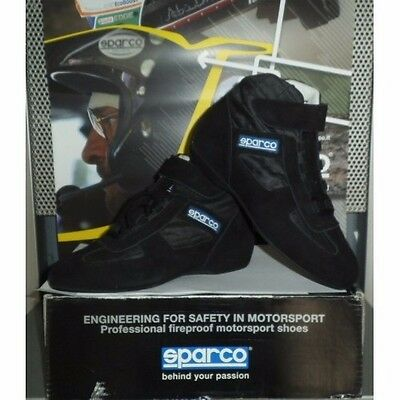 Sparco Racing Rally Race Boots X-Light Mid 45 Schuhe Fia 8856-2000 Schwarz