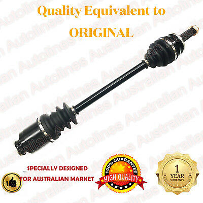 1 Brand New Front CV Joint Drive Shaft for Subaru Liberty 89-8/03 non ABS type