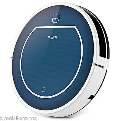 ILIFE V7 Smart Mute Sweeping Robot Automatic Rechargeable RC Vacuum Cleaner