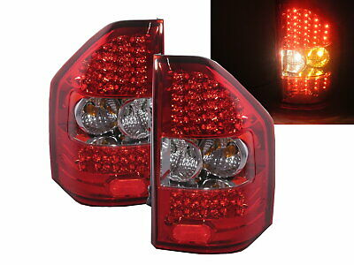 SHOGUN 2000-2006 LED Tail Rear Light Lamp V1 RED/CLEAR for MITSUBISHI