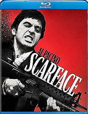 Brian DePalma's Scarface (NEW Blu-ray Disc)Al Pacino,Michelle Pfeiffer,ENG&FRENC