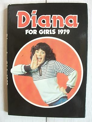 DIANA FOR GIRLS (Vintage Annual From 1979) *High Grade