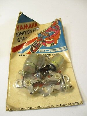 SUDCO YAMAHA DS5 DS6B IGNITION TUNE UP KIT 634-214 kc
