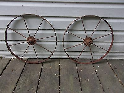 VGT PAIR DUAL 16 in.  CULTIVATOR WHEELS PLANT JR. PUSH WALK BEHIND GARDEN CABIN
