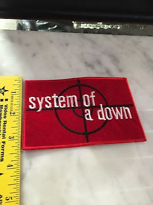 System Of A Down Iron On Patch