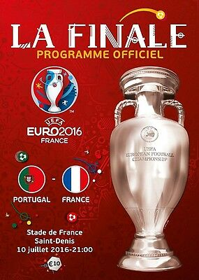 * EURO 2016 FINAL - FRANCE v PORTUGAL (FRENCH LANGUAGE EDITION PROGRAMME) *