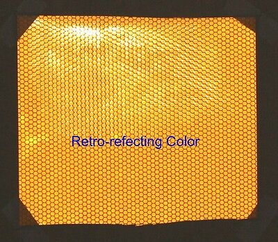 """8 inch Wide Yellow High Intensive REFLECTIVE TAPE 6""""X8"""""""