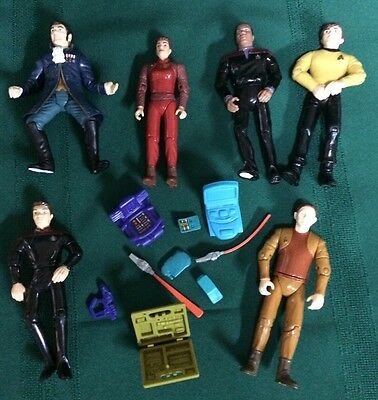 Star Trek Action Figures Lot 10
