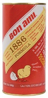 Bon Ami, 6 Pack, 12 OZ Cleaning Powder, Feldspar