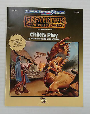 Child's Play, Greyhawk Adventures WG10 by Jean Rabe and Skip Williams