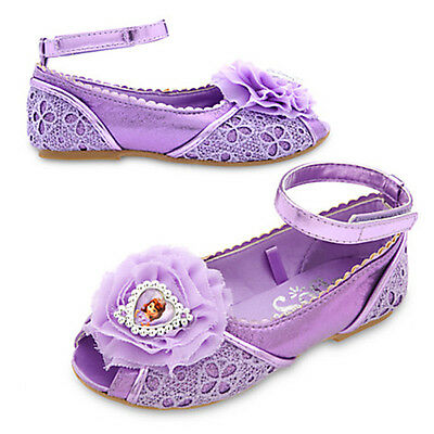 Authentic Disney Princess Sofia the First Costume Shoes for Kids Size 9/10