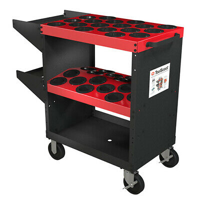Huot 13950 Cnc Toolscoot Tool Cart For All 50 Taper Tool Holders Cat50 Nmtb