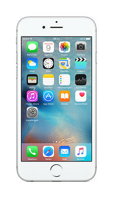 Apple Iphone 6S 16Gb White/silver Lte Smartphone Cdma Or Gsm Factory Unlocked