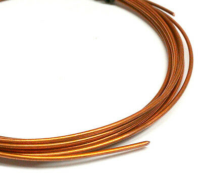18 gauge 1mm SOFT PURE COPPER WIRE UNCOATED BEADING FINDING CRAFT JEWELRY 4ft