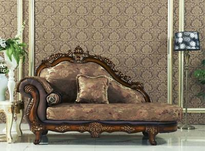 Meridian 692 Seville Living Room Chaise Hand Carved Traditional Style