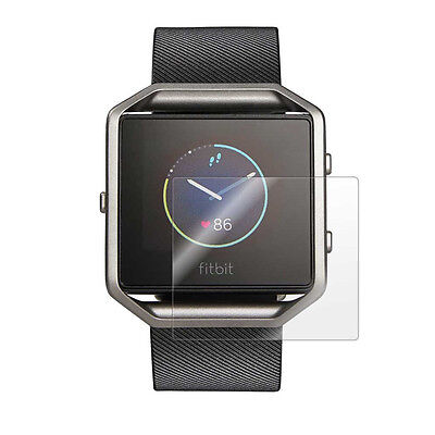 3x Clear LCD Screen Protector Cover Shield Film for Smart Watch Fitbit Blaze