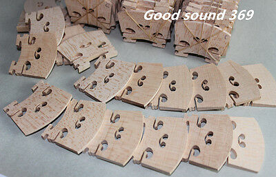 60 pcs most solid maple wood 4/4 violin bridges dried in the open air 15 years