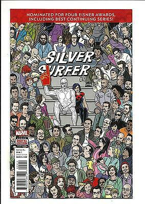 SILVER SURFER # 5 (AUG 2016), NM/M NEW (Bagged & Boarded)