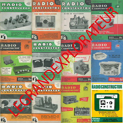 Ultimate  Radio Constructor  Magazine Collection    222 PDF magazines on DVD!
