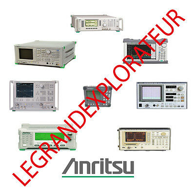 Ultimate  Anritsu & Wiltron  Operation Maintenance Repair Service manual on DVD