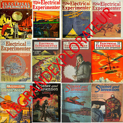 Ultimate Electrical Experimenter Magazines Collection  (145 PDF magazine on DVD)