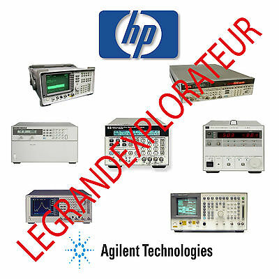 Ultimate HP Agilent Keysight Operation Repair Service manual  1950 manuals 3 DVD