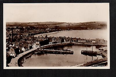 Stonehaven - real photographic postcard