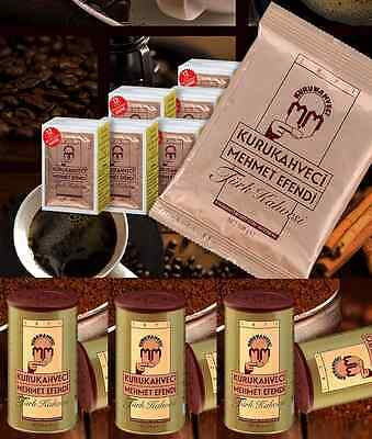 Kurukahveci Mehmet Efendi - Best Ground Turkish Coffee from TURKEY - ALL SIZES!