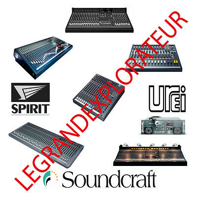 ULTIMATE SOUNDCRAFT OWNER Repair Service manual & Schematics 270 Manuals on  DVD
