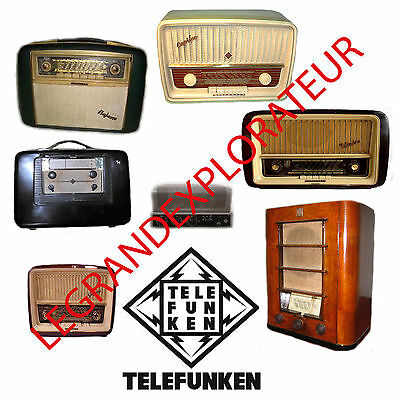 Ultimate TELEFUNKEN  Repair Service manual & Schematics   420 PDF manuals on DVD