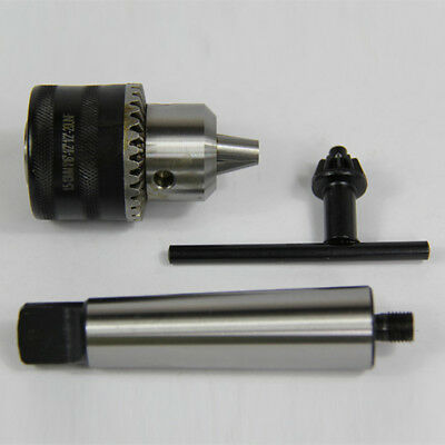 """1/16-1/2"""" Capacity Threaded Drill Chuck & 1/2""""-20-2Mt Arbor For Woodworking Mt2"""