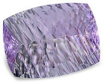Spectacular Purple AMETHYST Antique Concave Millennium Cut 19.8x15 mm 16.51 Ct.