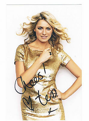 Tess Day - Strictly come dancing Signed  Publicity Photograph - 7.5 x 4 Inches