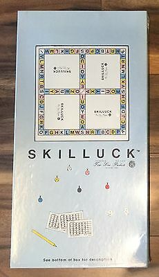 Vintage Fine Line Products 1986 Skilluck Board Game! New! Rare! Shipping!